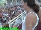 Crazy open air party with bitches getting fucked