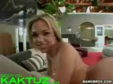 Blonde with juicy ass gets fucked