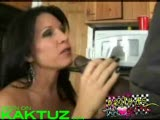 MILF fucked a black guy in the kitchen