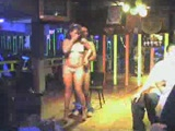 Sexy stripper in action caught on cam