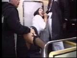 Threesome in the train