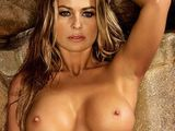 Carmen Electra topless on stage