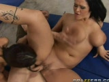 Two big titted pornstars get fucked