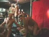 Crazy drunken swinger party