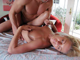 Busty oiled babe havin fuckin intensive massage