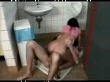Hot public bathroom porn