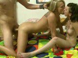 Fucked up GFs in a hot threesome