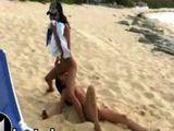nude beach teens piss on each other