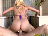 Katie Summers riding her fat ass