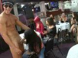 Random cocksucking at a local strip club