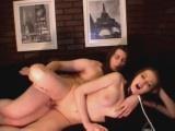 Cute girl getting fucked on webcam