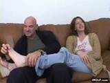 Lovely MILF takes a big load in her pussy