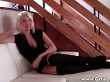 Porn Casting Couch Sex with german hottie - POV