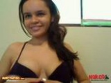 Webcam Latina Chick Plugged Her Ass With Her Toy
