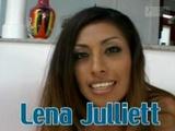Hot Latina Teen Lena Julliett wants to get fucked by 2 guys
