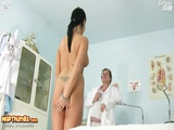 Carmen Visits Her Gyno Doctor For A Nasty Pussy Examination