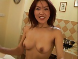 Yummy asian girl masturbate with her dido by airliner1