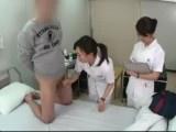 Nurse Taking Patient's Semen For Laboratory Test