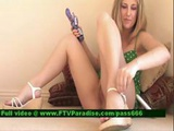 Madison Superb Stunning Blonde Slut On The Floor
