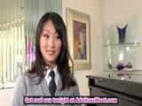 Horny Asian schoolgirl Evelyn Lin