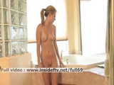 Alanna _ Amateur Blonde Touching Herself In Water In The Bath