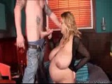 Sexy Prego Bitch Shaved and Fucked