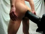 Gay Ass Destroyed By GIANT Dildo - Big dildo Videos