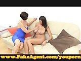 FakeAgent She prefers cock!