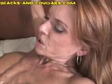 Cougar Enjoys Black Monster