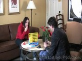 Addie And Simon Play Connect Four