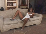 Beautiful ebony knows how to suck