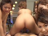 Uncensored Reverse Gangbang 7 Asians Creampie