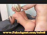 FakeAgent Beautfiul Blonde Babe