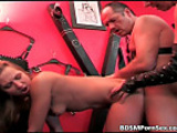 Porn movie with BDSM blowjob and sex