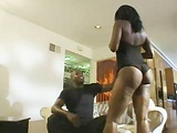 Ebony Star Cinnabon banged by a huge black cock