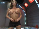 Busty MILF Squirts As She Masturbates With Fucking Machines