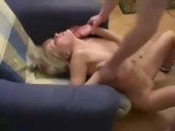 Wasted Naive Teen Girl Tapped While Fucked