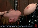 Busty Slave Endures The Painful BDSM Punishment