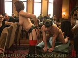 Horny Sex Slaves Gets Dominated And Fucked At BDSM Party