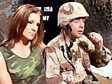 Sexy elite babes helping the troops - Coast to Coast