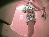 Hidden cam in public toilet