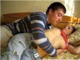 Young horny couple 18yr years doing what they love best