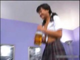 Cute Asian Schoolgirl Sucking And Riding Part6