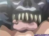 Bondage hentai with bigboobed brutally fu ...