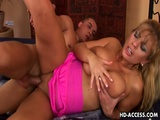 Blonde MILF With Huge Tits In Hot Hardcore Fucking
