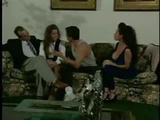 Nici Stirling And Peter North In A Foursome