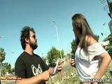 Cute Brazilian Chick Sofia Gives BJ Before Hardcore Sex