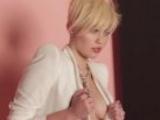 Miley Cyrus Tit Flash On Set