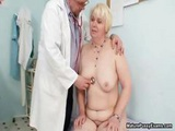 Blonde Grandma Gets Her Pink Pussy Part4