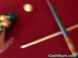 Brunette Amateur Flashing Titties For Cash
